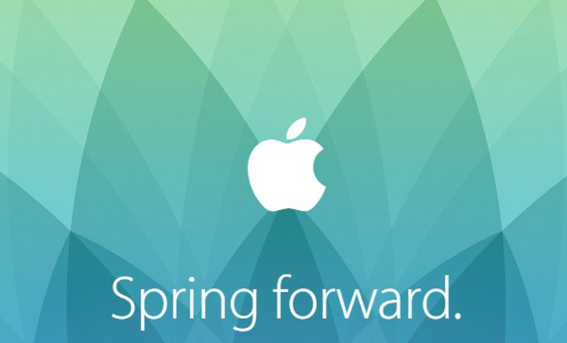 Apple Spring Forward – 09-03-2015
